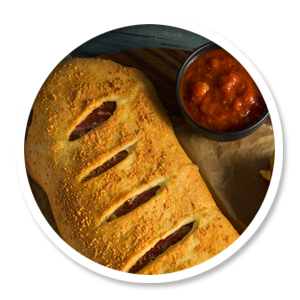 Pizza Time stromboli